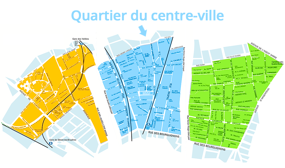 Quartier du Centre Ville