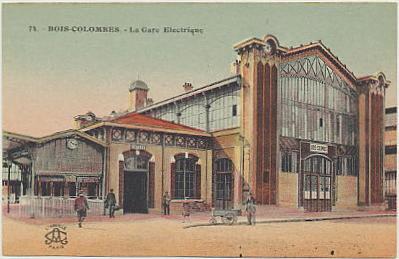 La gare électrique vers 1903 (AMBC).