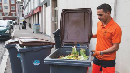 Le tri des déchets alimentaires