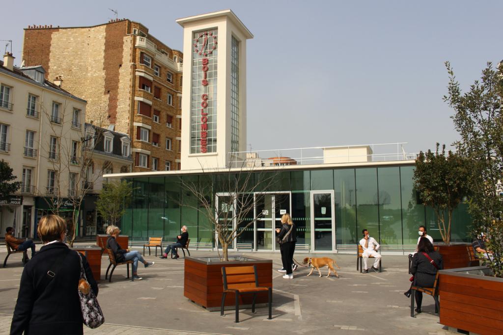 Rénovation de la gare de Bois-Colombes