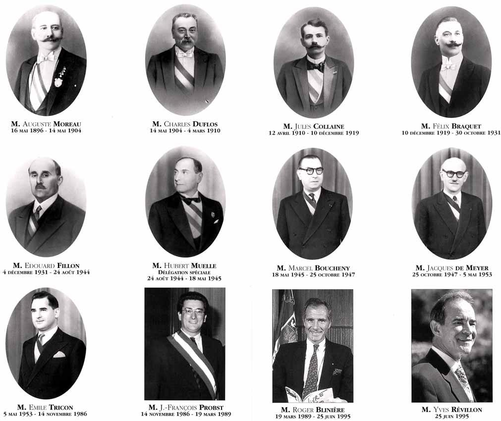 Les maires de Bois-Colombes depuis 1896