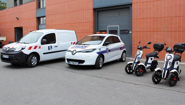 Des véhicules électriques à Bois-Colombes