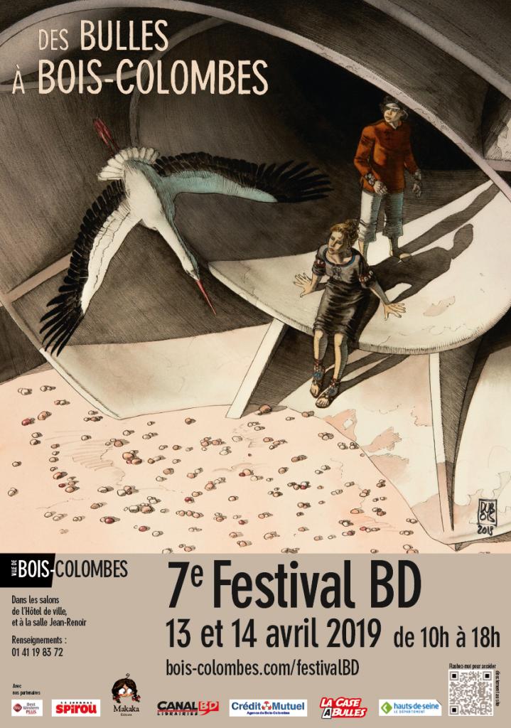 Affiche Festival BD 2019