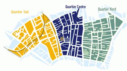 Plan 3 quartiers